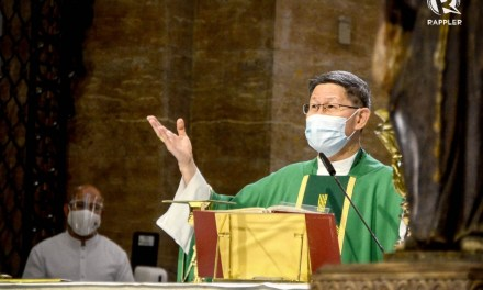 Breaking: Cardinal Tagle surprises Filipinos, says Mass after COVID-19 recovery