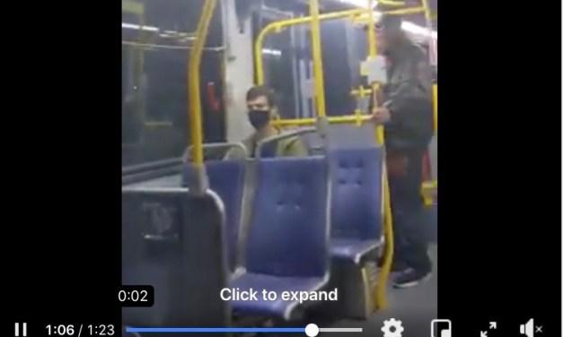 Tatay takot ng sumakay sa bus dahil sa nangyaring racismo