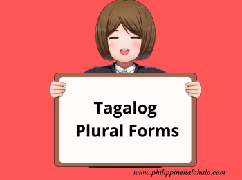 Philippine Halo-halo Tagalog Lessons Tagalog Plural Forms