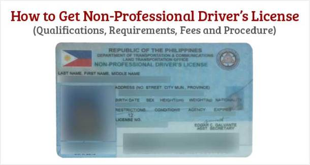 How to Get Non-Professional Drivers License