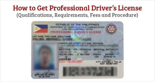 How to Get Professional Drivers License