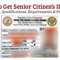 How to Get Senior Citizen's ID Card