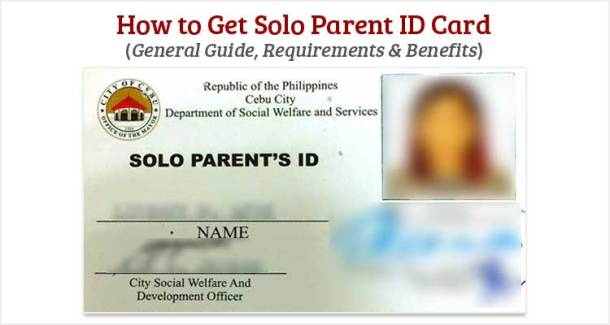 How to Get Solo Parent ID Card