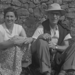 George & Joan Horridge, Cornwall, 1950s