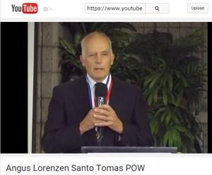 Angus Lorenzen in 2015 YouTube video