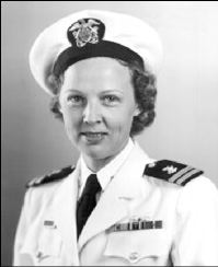 Lt. Dorothy Still in uniform
