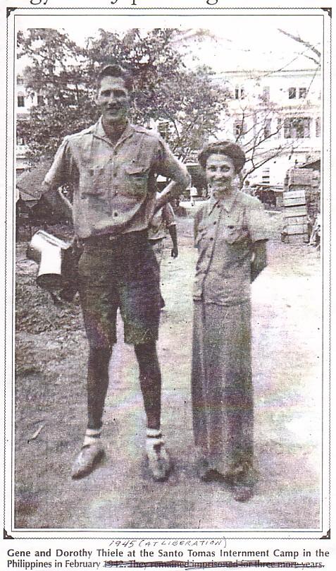 Thiele-Gene-Dorothy-1945-Liberation