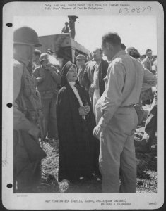 Sister Mary Alphonsa Bergeron at liberation, February 1945