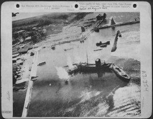 Straffing of Zamboanga Harbor, Mindanao 1945