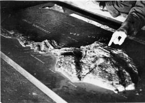 U.S. military model of Corregidor, 1945