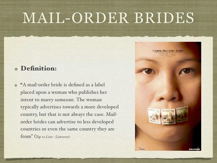 Filipina Mail Order Bride The
