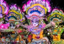Bacolod, Mindanao, festival of masks,