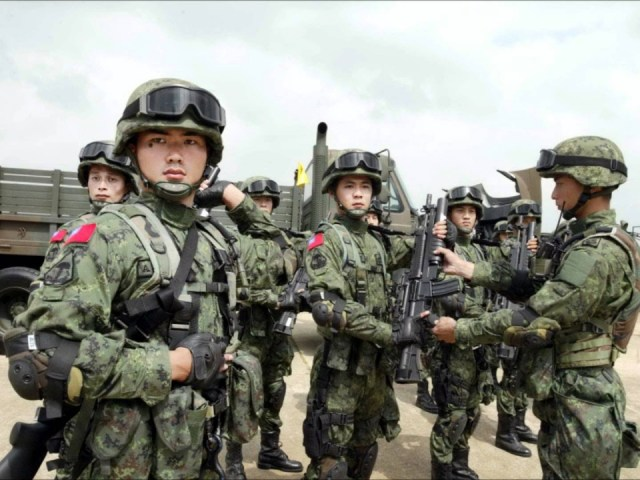Image result for chinese soldier in the philippines