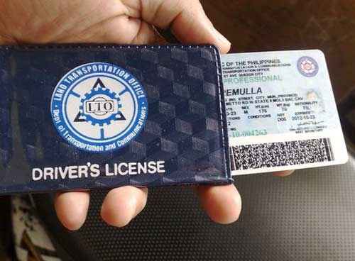 Image result for Drivers license image philippines