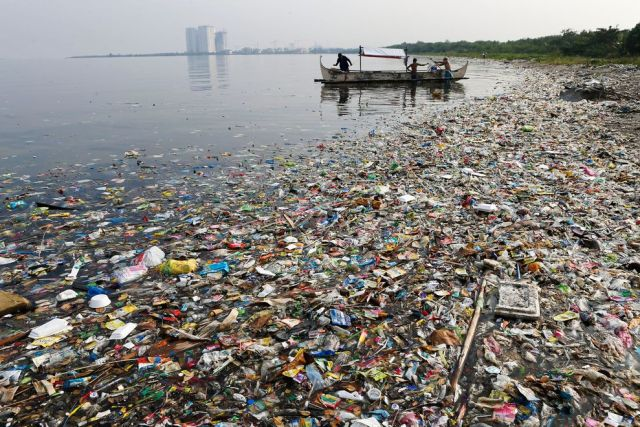 After China, all the top five courses of maritime plastic pollution are in Southeast Asia. File photo