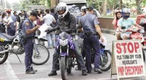 "LTO said the bike would have to ""pass"" a physical check to sell, this was done at another location in Davao"
