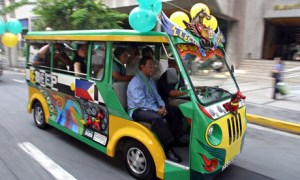For years, jeepneys and other forms of road transport have been blamed for rising carbon emissions in the Philippines