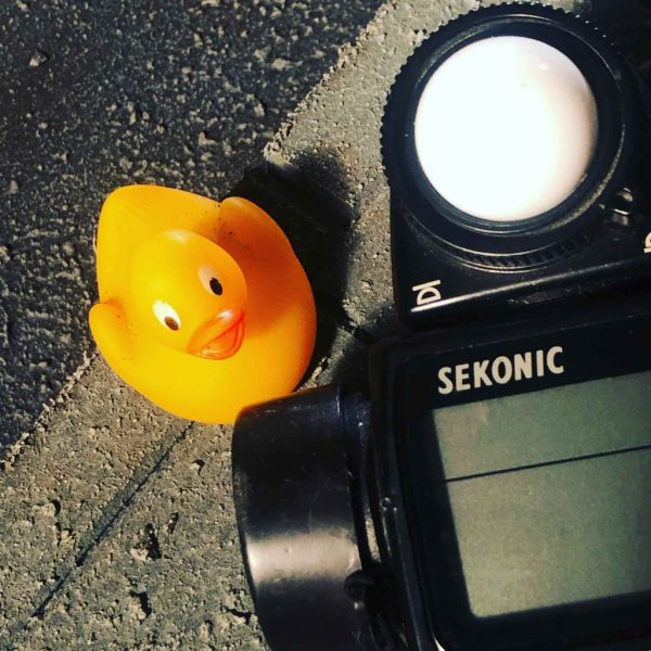 """My new friend """"lucky Ducky"""" will be with me on set!"""