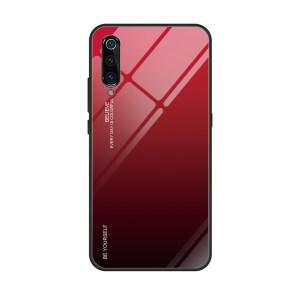 Capa Dura Emborrachada Vidro Temperado Gradiente Preto Vermelho Essager Be Yourself Xiaomi Mi 9 Img 08