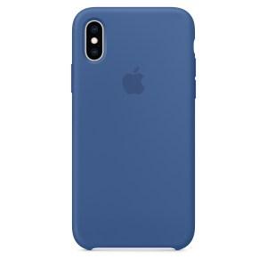 Capade Silicone Para Iphone Xs Max Azul‑holandês Img 01