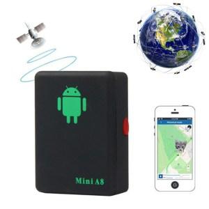 Mini Rastreador E Localizador Espiao Gsm Gprs Gps Mini A8