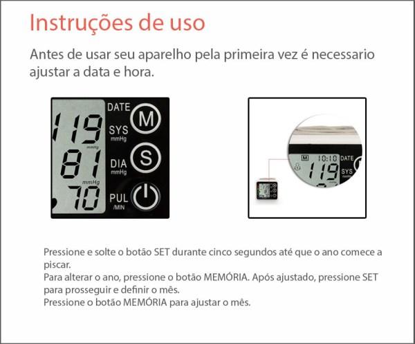 Monitor De Pressao Arterial Digital Automatico De Pulso Techline Img 06