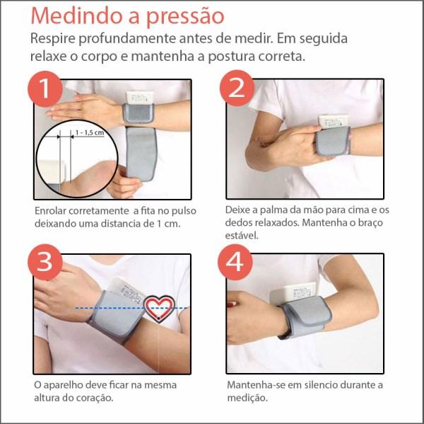 Monitor De Pressao Arterial Digital Automatico De Pulso Techline Img 07