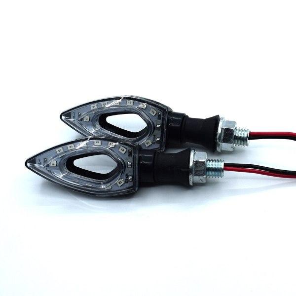 Pisca Seta LED Esportiva Triangular Universal 12V 12 LEDS Moto IMG 08