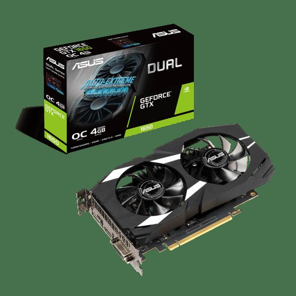 Placa de Video ASUS Dual nvidia GeForce GTX 1650 OC 4GB IMG 01