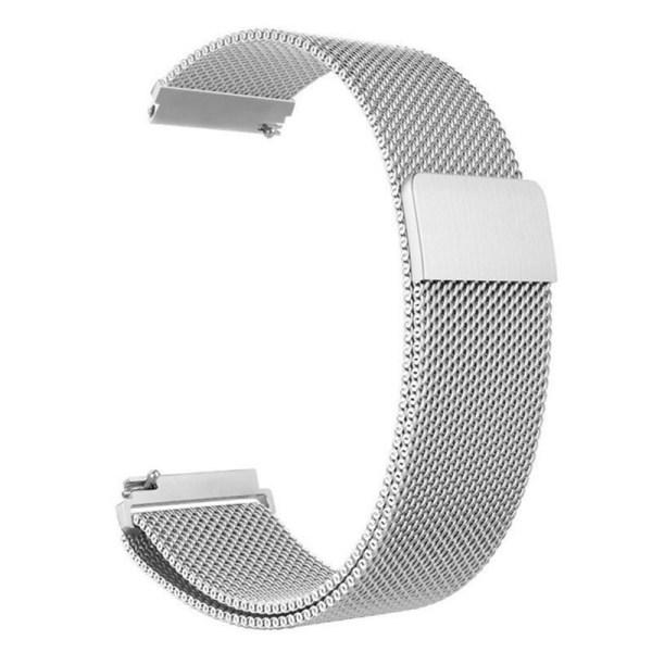 Pulseira Milanese Metal Inoxidavel Prata Xiaomi Amazfit Bip Img 01