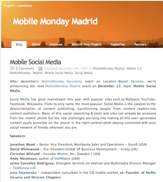 mobile socialmedia