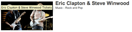 Eric Clapton & Stevie Winwood