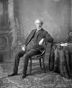 Sir John A. Macdonald, 1875 - Photographer George Lancefield - Photo courtesy of Library and Archives Canada / Collection C-021599