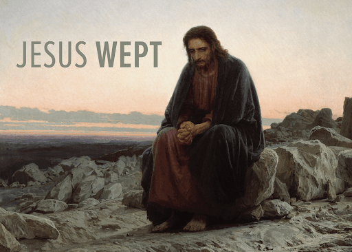 Jesus wept verse