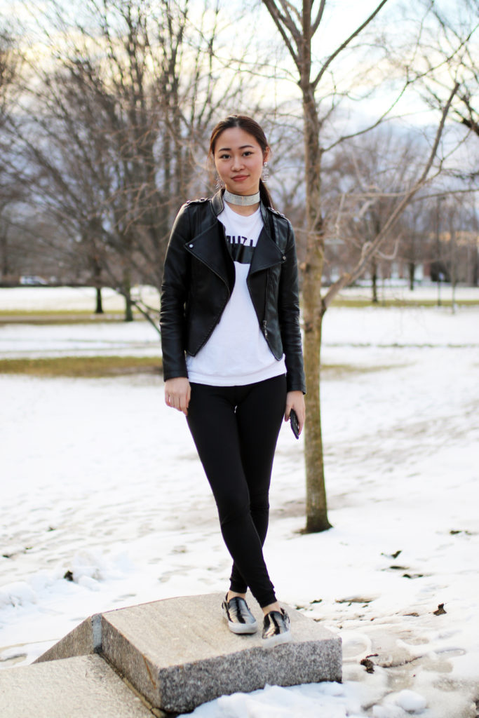 Today, Jessica Wu '17 primarily derives her style inspiration from hip-hop artists like Kanye West and Rihanna.