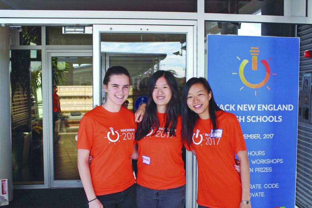Shen, Sun, Wang Lead  Second Annual hackNEHS