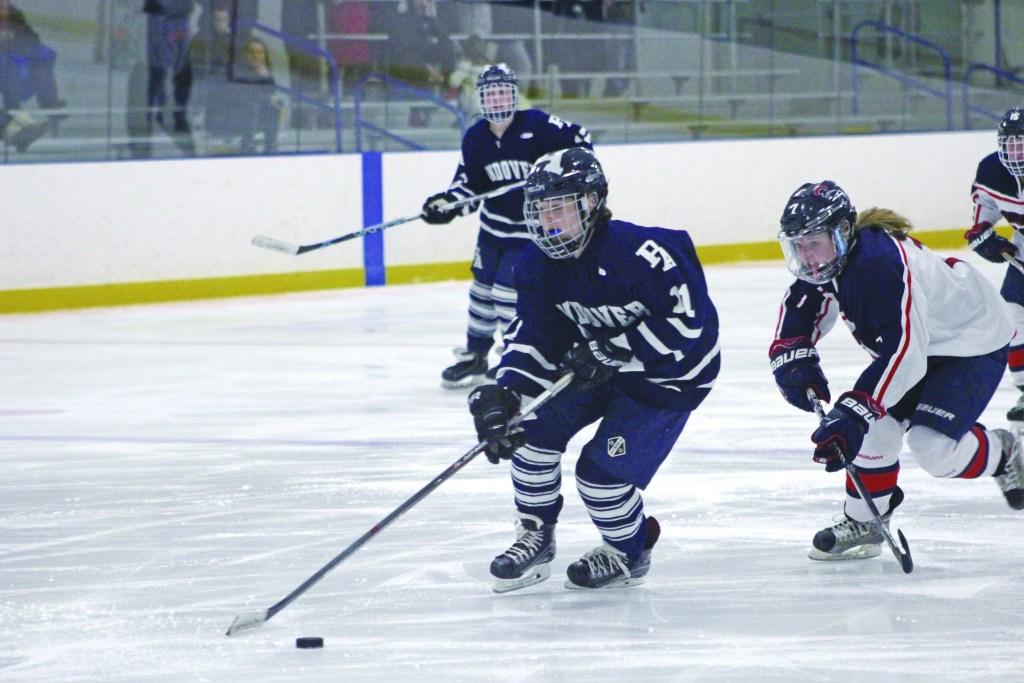 Girls Hockey Beats Brooks in Overtime Win