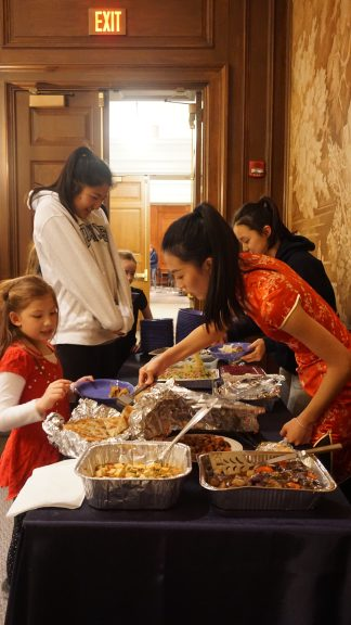 Lunar New Year Dinner Offers Homemade Chinese Food and Student Presentations