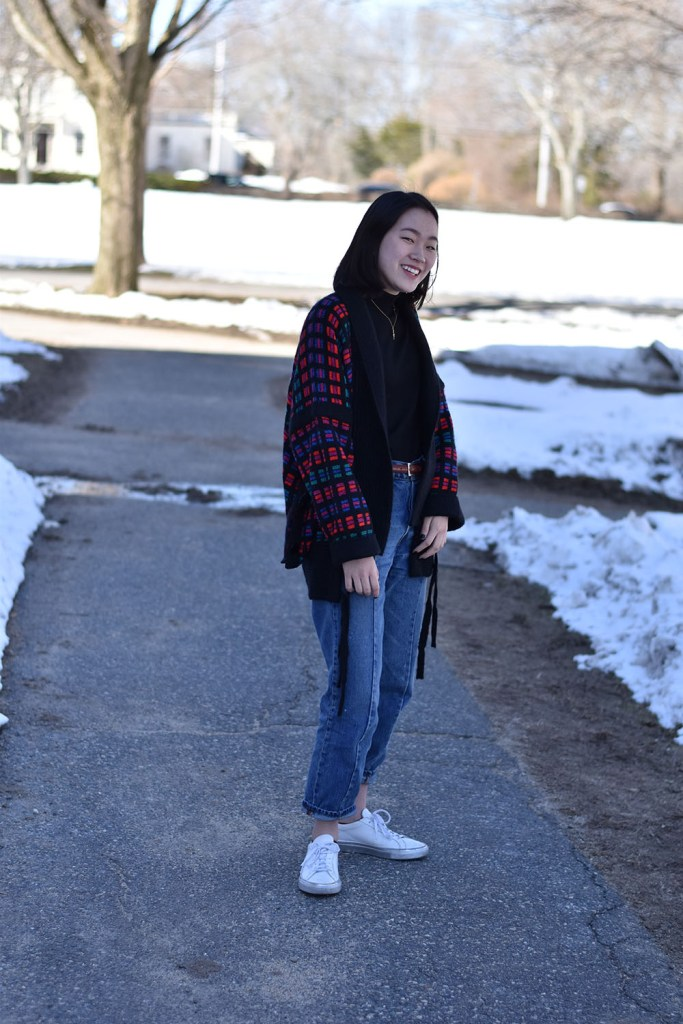 Look of the Week: Susan Lee '19 Employs Mix-and-Match Vintage Style