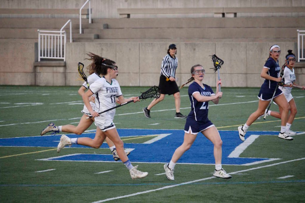 Girls Lacrosse Score 20 Points Against Pingree