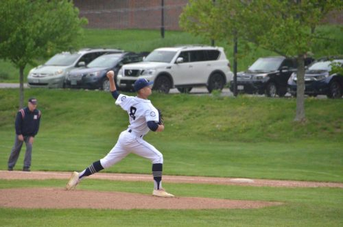 Sam Conte '18 plays pitcher and outfield for Boys Varsity Baseball.