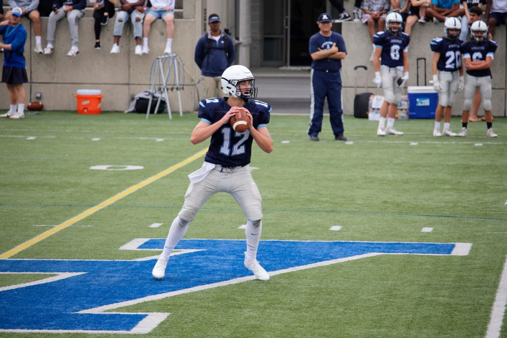 Andover Football Starts Off Slow Against Suffield