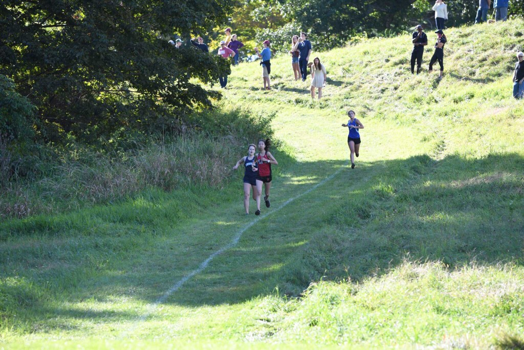 Andover Girls Cross Country Overcomes Hills to Defeat Choate