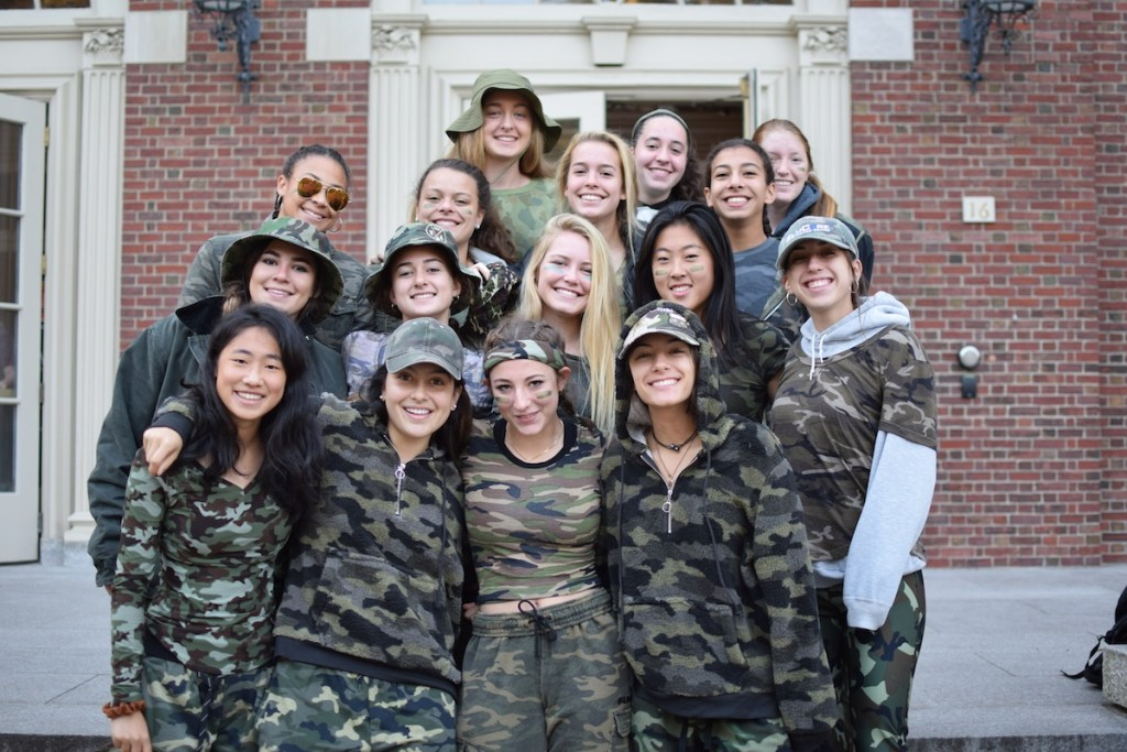 Look of the Week: Girls Varsity Soccer's Camouflage Psych Is Anything But Invisible