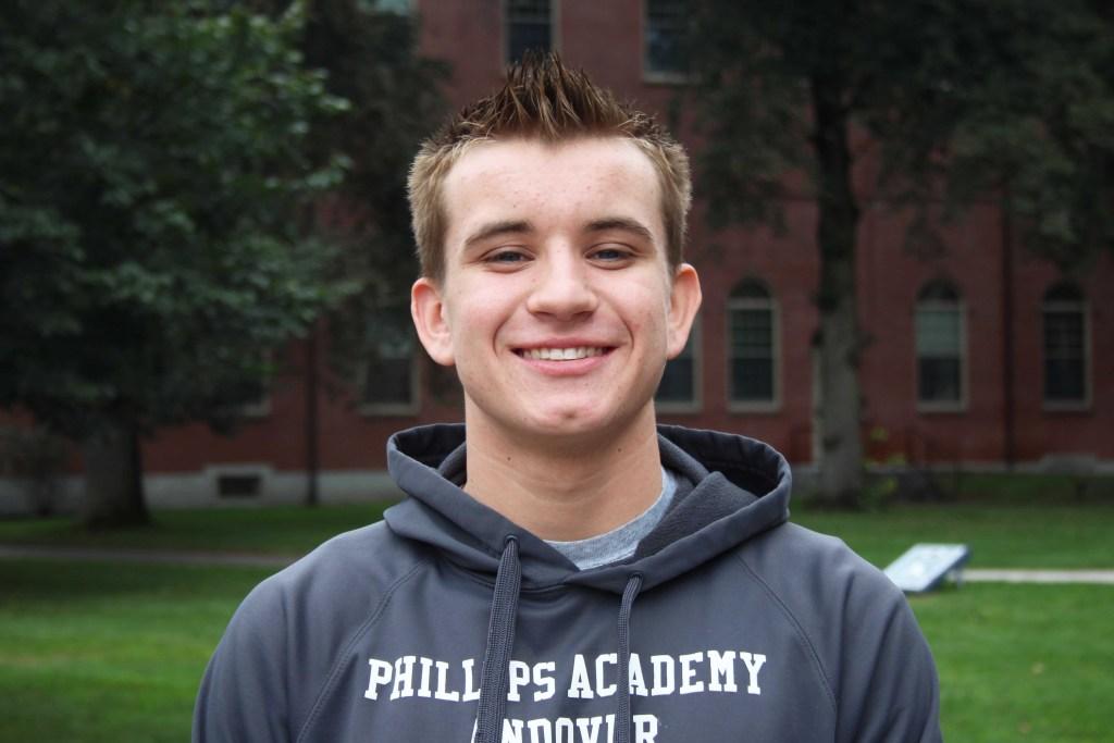 Captain Feature: Neil Simpson '19 Brings 11 Years of Water Polo Experience to Andover