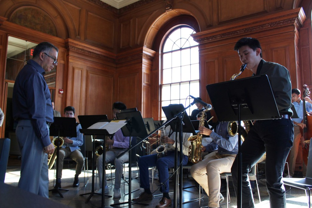 Jazz Band  Showcases New Tunes At Family Weekend
