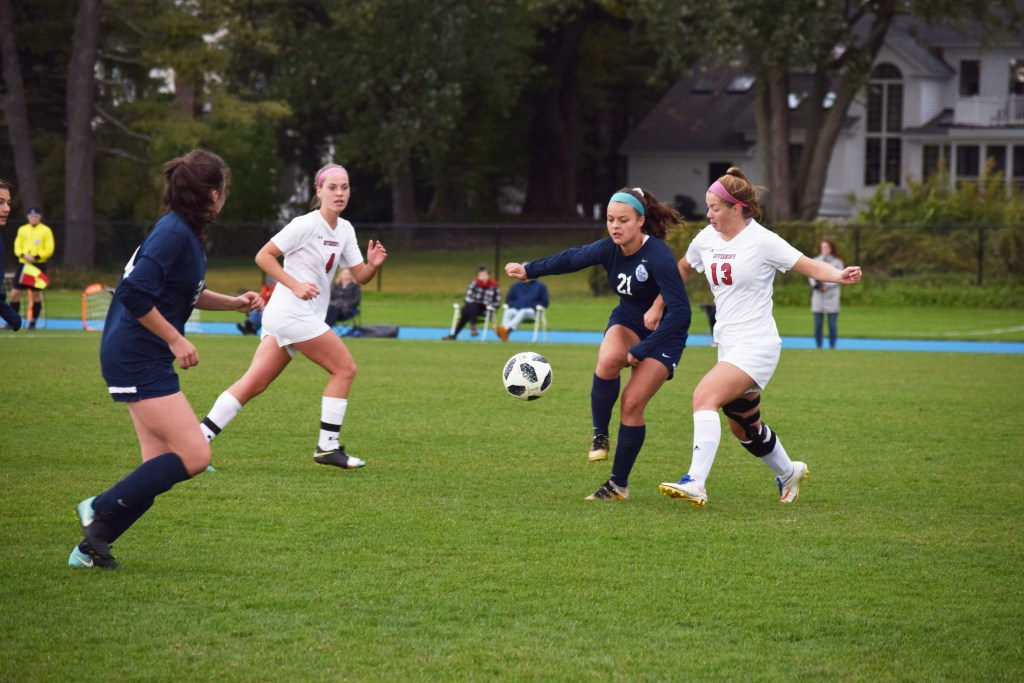 Andover Defeats Deerfield, Shut Out By Nobles