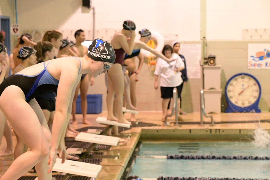Girls Swimming & Diving Suffers a Close Loss to Choate in First Meet of Season