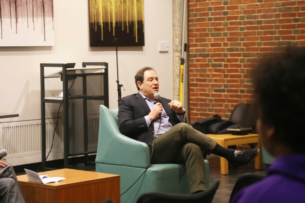 Mark Lapolla '78 and Head of School John Palfrey Examine Importance of Intellectual Diversity in Conversations on Climate Change