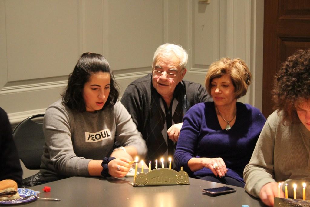 Hanukkah Party Spreads Light on Campus